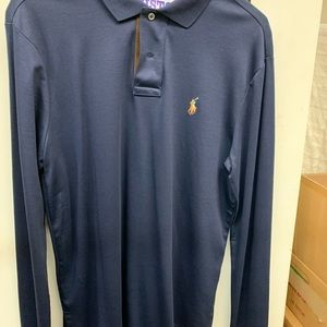 Polo by Ralph Lauren long sleeve navy small